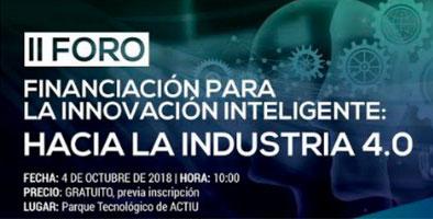 doeet en el II Foro para la innovación inteligente: Hacia la Industria 4.0