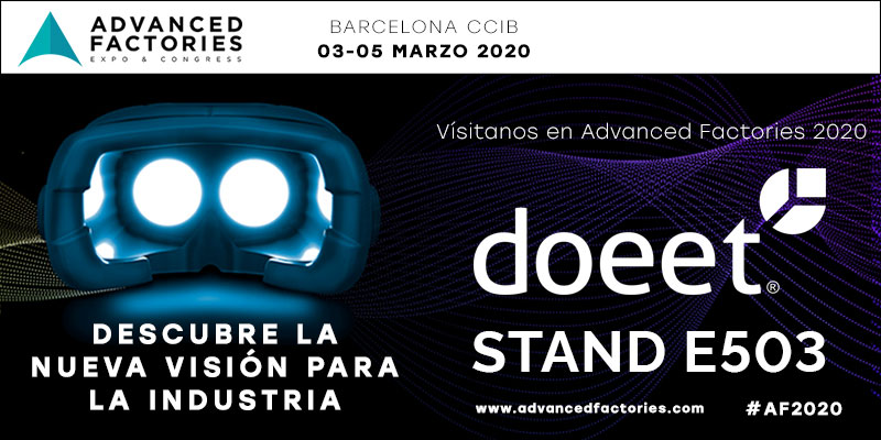 doeet participa en Advanced Factories 2020