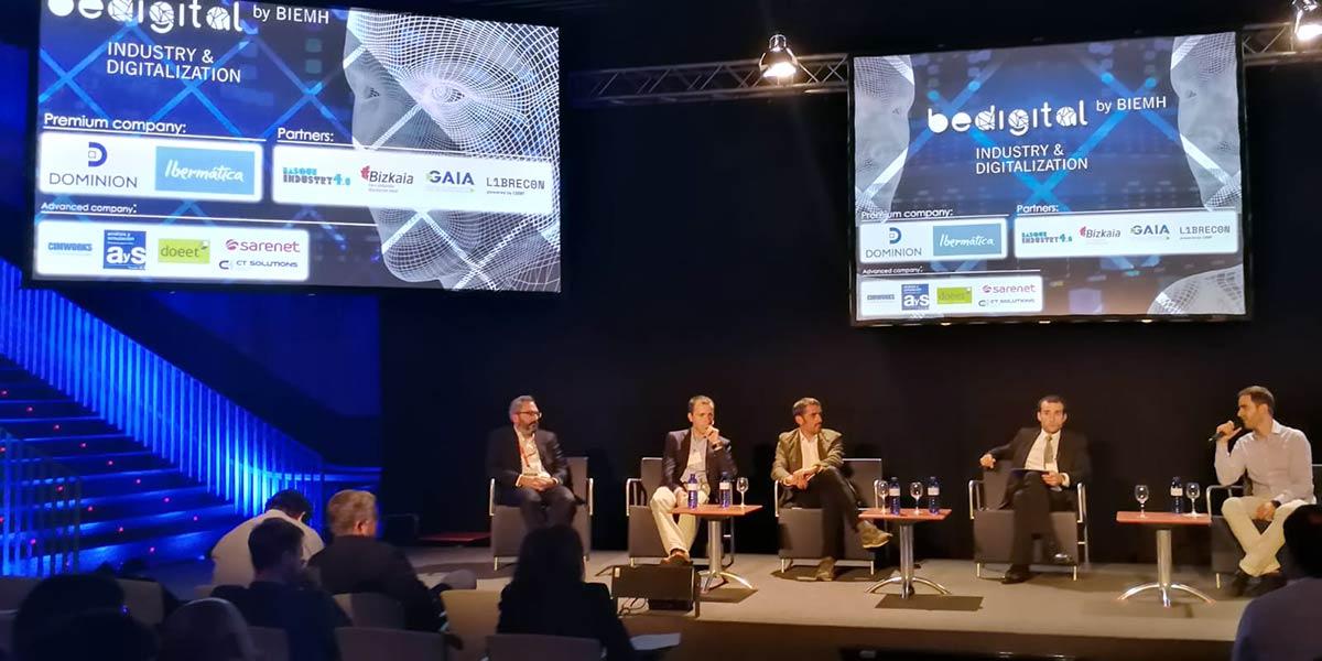 Jordi Fuster durante su ponencia durante BIEHM 2018