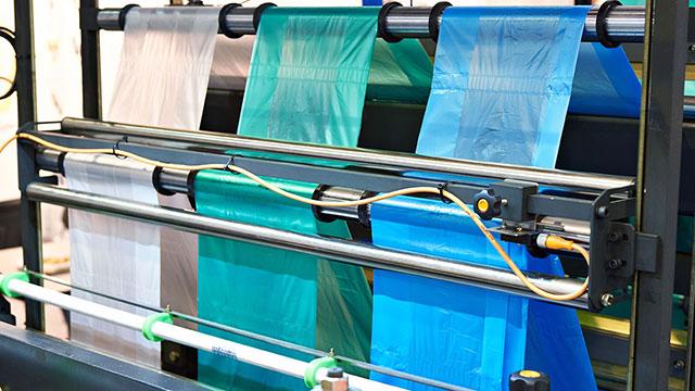 Fabricación de bolsas de plástico