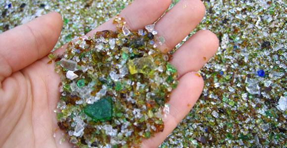 Cristal reciclado
