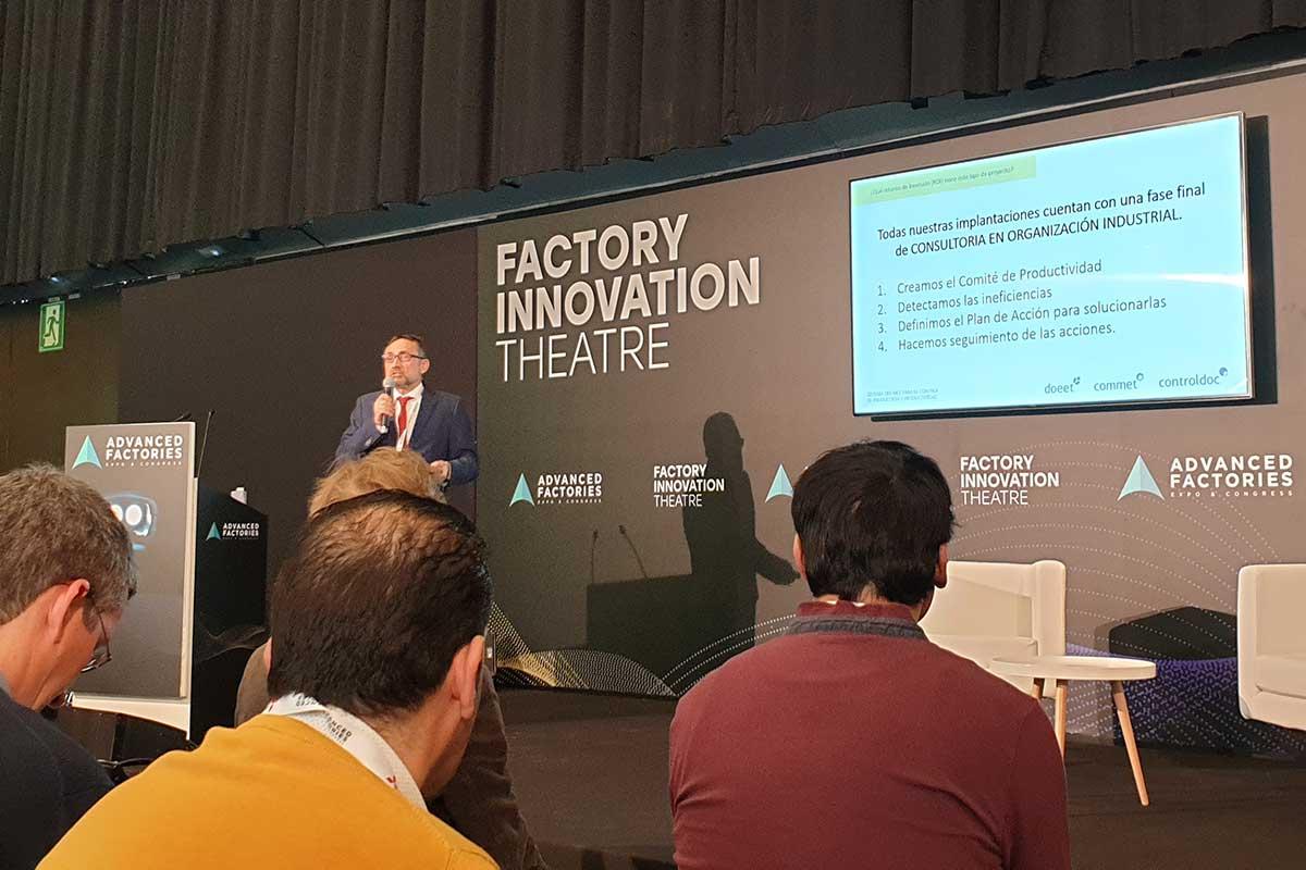 Doeet en su participación en Advanced Factories 2020