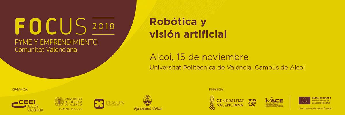 doeet en el Focus PYME de Robótica y Visión artificial 2018
