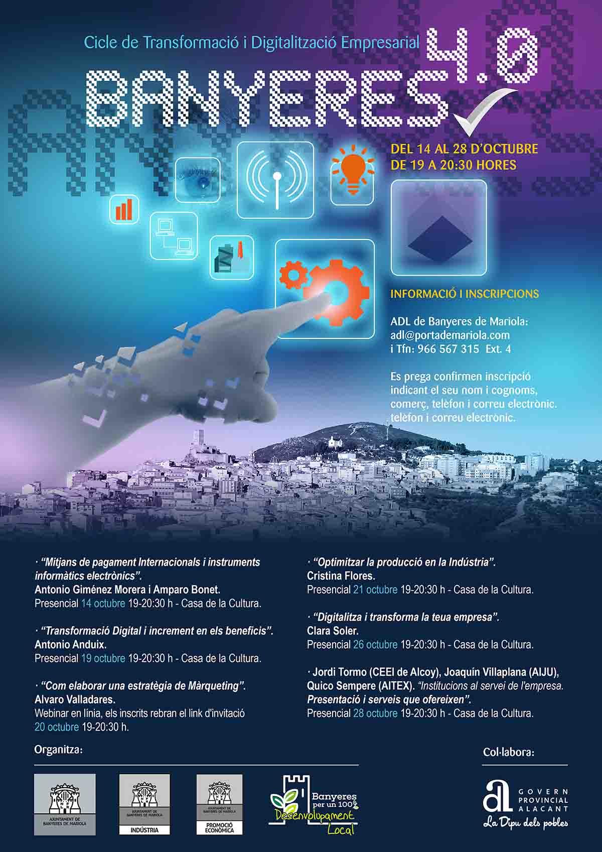 Ciclo de Transformación y Digitalización Empresarial en Banyeres